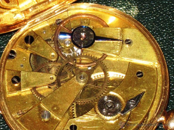 Relojes de bolsillo: OPORTUNIDAD DE TENER UNA PIEZA HISTORICA BREGUET RELOJ BOLSILLO ORO - Foto 16 - 53100108