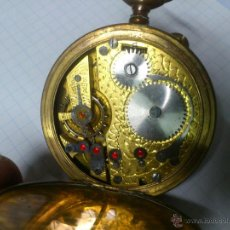 Relojes de bolsillo: ANTIGUO RELOJ DE BOLSILLO SABONETA ''REGULADOR'' 3 TAPAS - 53 MM.. Lote 53123917