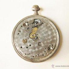 Relojes de bolsillo: RELOJ DE BOLSILLO SUIZO DE PLATA NUMERADO. Lote 53236575