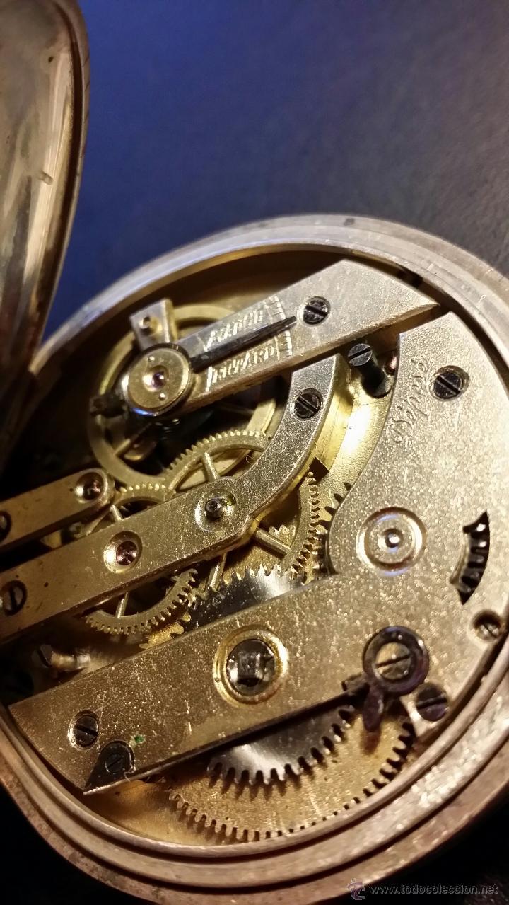 Relojes de bolsillo: reloj de bolsillo remontoir cylindre 10 / plata 800 - Foto 9 - 53374802