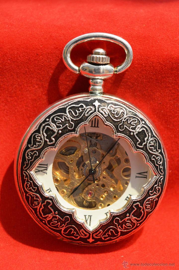 ef10bf313929 Reloj de bolsillo saboneta en plata 3 tapas - España - Diámetro de la  esfera 36mmdiámetro