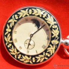 Relojes de bolsillo: EXCELENTE RELOJ DE BOLSILLO SABONETA EN PLATA. Lote 53480734