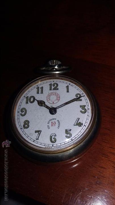 Bolsillo De Confianza Reloj FuncionandoCristal Original Roskopf H2WED9I