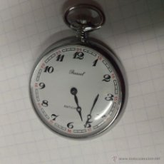 Relojes de bolsillo: RELOJ BOLSILLO CARGA MANUAL ORIGINAL BASSEL ANTICHOC FUNCIONANDO.. ALFONSOJO. Lote 52677045