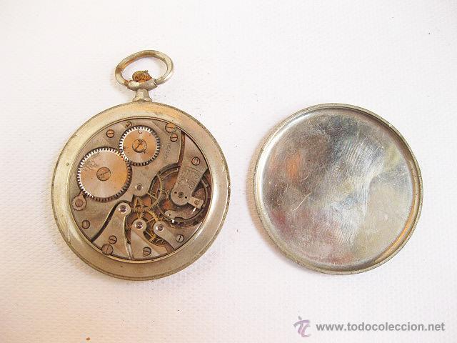 Relojes de bolsillo: Reloj de bolsillo Lanco. Para reparar o piezas. - Foto 2 - 53731184