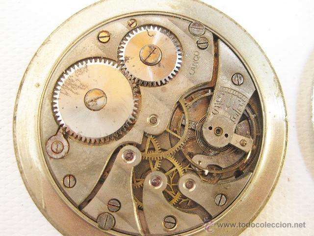 Relojes de bolsillo: Reloj de bolsillo Lanco. Para reparar o piezas. - Foto 3 - 53731184