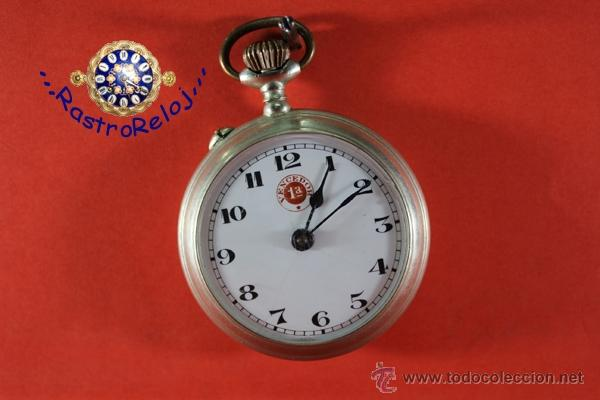 ,,,VENCEDOR 1ª,,,ALPACA,,, ( B - 89 ) (Relojes - Bolsillo Carga Manual)