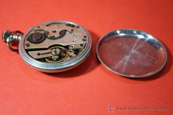 Relojes de bolsillo: ,,,VENCEDOR 1ª,,,ALPACA,,, ( B - 89 ) - Foto 7 - 53781048