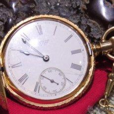 Relojes de bolsillo: AMERICAN WALTHAM WATCH COMPANY - ORO. Lote 54293797