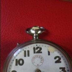 Relojes de bolsillo: RELOJ DE BOLSILLO CONFIANZA. CON CRISTAL GUARDAPOLVO. FUNCIONANDO. Lote 54500197