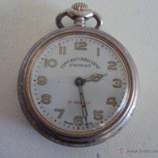 Relojes de bolsillo: GRE ROSKOPF PATENT NUEVAS FOTOS. Lote 54519080