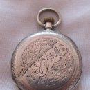 Relojes de bolsillo: RELOJ DE BOLSILLO ANTIGUO PLATA L. JACOT. Lote 54676494