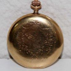 Relojes de bolsillo: RE299 ORION. CAJA EN ORO DE 18 KT. ESFERA DE PORCELANA. NO FUNCIONA. FIN S. XIX. Lote 50137625