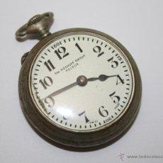 Relojes de bolsillo: RE206 RELOJ ROSKOPF PATENT KELDOR - CAJA METÁLICA - ESFERA PORCELANA - FUNCIONA. Lote 45571112
