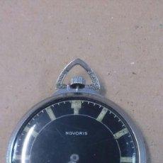 Relojes de bolsillo: RELOJ DE BOLSILLO NOVORIS, SUIZO. Lote 55084229