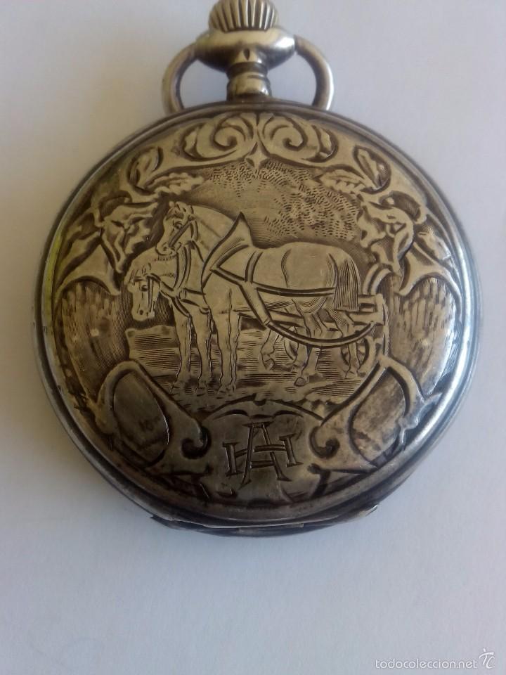 RELOJ DE BOLSILLO MOVADO (Relojes - Bolsillo Carga Manual)