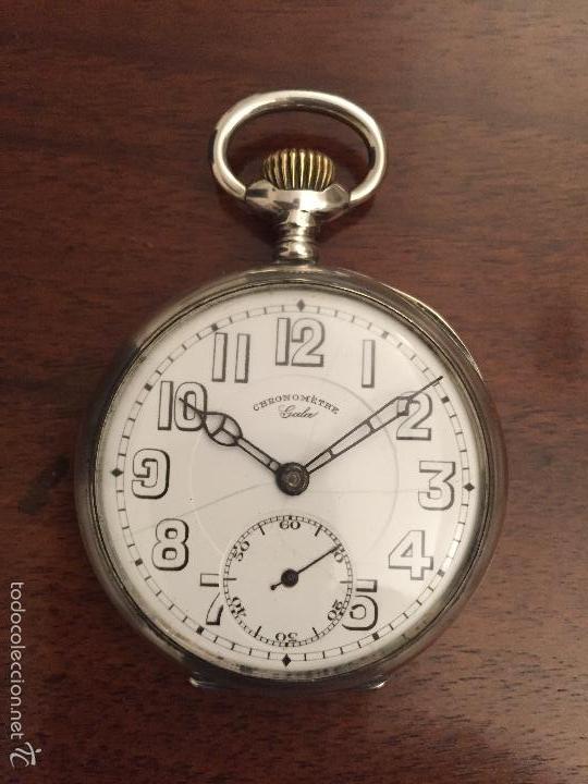 Reloj Antiguo De Bolsillo De Plata 800 Ml Para Comprar Relojes