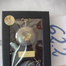Relojes de bolsillo: RELOJ DE BOLSILLO DE COLECCION CARGA MANUAL A CUERDA FUNCIONANDO EN SU CAJA NUEVO SIN USAR. Lote 56672555