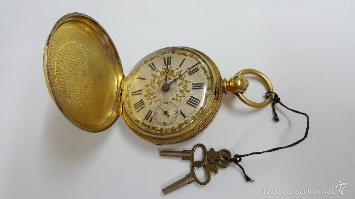 Reloj Bolsillo Antiguo Robert Roskell Liverpo Comprar Relojes