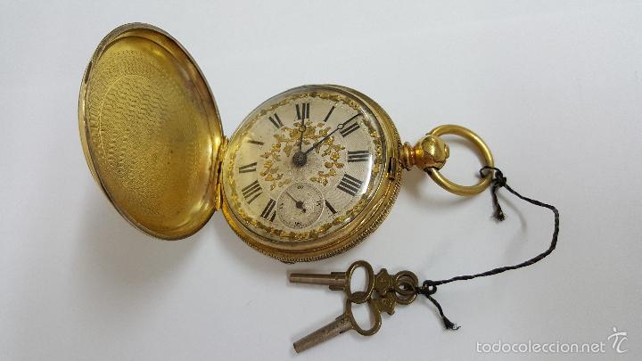 Relojes de bolsillo: Reloj bolsillo antiguo. Robert Roskell. Liverpool. - Foto 2 - 57123894