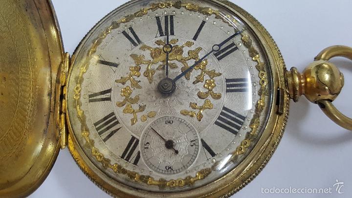 Relojes de bolsillo: Reloj bolsillo antiguo. Robert Roskell. Liverpool. - Foto 3 - 57123894