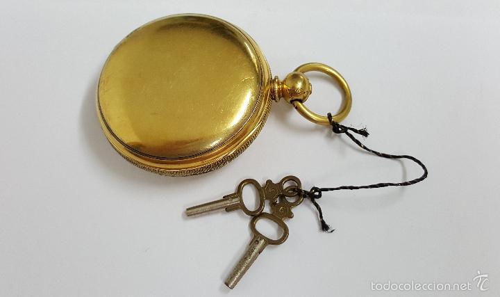 Relojes de bolsillo: Reloj bolsillo antiguo. Robert Roskell. Liverpool. - Foto 4 - 57123894