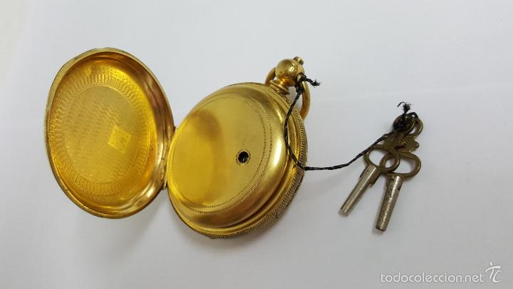 Relojes de bolsillo: Reloj bolsillo antiguo. Robert Roskell. Liverpool. - Foto 5 - 57123894
