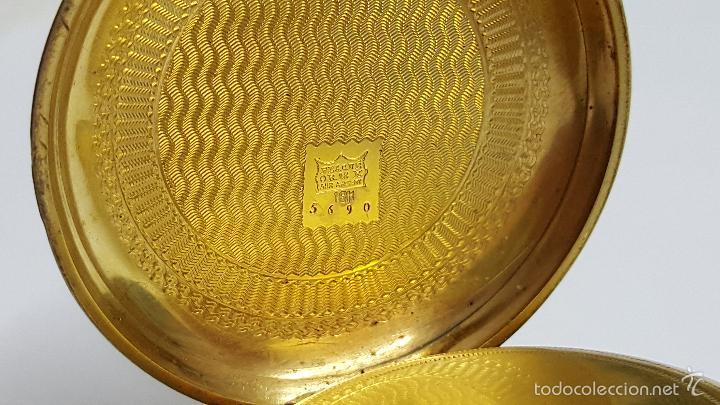 Relojes de bolsillo: Reloj bolsillo antiguo. Robert Roskell. Liverpool. - Foto 6 - 57123894