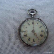 Relojes de bolsillo: PEQUEÑO RELOJ DE BOLSILLO EN PLATA. Lote 57187911
