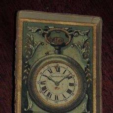 Relojes de bolsillo: CAJA DE CARTON PARA RELOJ DE BOLSILLO, MARCA REGULADOR DG, MIDE 9,5 X 7 CMS.. Lote 57252550