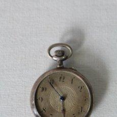 Relojes de bolsillo: RELOJ DE BOLSILLO SWISS EN PLATA DE LEY. Lote 57634902
