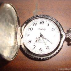 Relojes de bolsillo: BONITO RELOJ DE COLECCION DE CUERDA MANUAL TIENE LA CUERDA ENGANCHADA. Lote 37834104