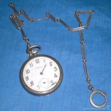 Relojes de bolsillo: VIEJO RELOJ DE BOLSILLO JUSTINA. Lote 58631136