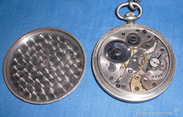 Relojes de bolsillo: Viejo reloj de bolsillo Justina - Foto 2 - 58631136