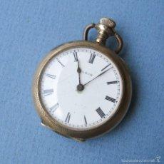 Relojes de bolsillo: RELOJ DE BOLSILLO ELGIN CAJA KEYSTONE J.BOSS 20YRS 7899134 (NO FUNCIONA BIEN, PARA). Lote 58686290