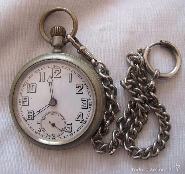 Reloj de bolsillo antiguo uranus con cadena comprar - Reloj de cadena ...