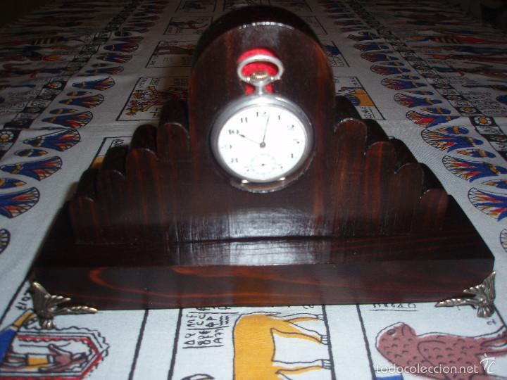 RELOJERA PARA RELOJ DE BOLSILLO DE MADERA (Relojes - Bolsillo Carga Manual)