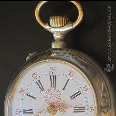 Relojes de bolsillo: RELOJ BOLSILLO ROSKOPT - BELLEVUE - FUNCIONA PERFECTAMENTE. Lote 31216424