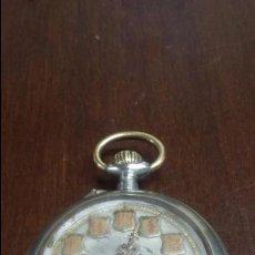 Relojes de bolsillo: RELOJ DE BOLSILLO SISTEMA ROSCOPF. FUNCIONANDO.. Lote 59812076
