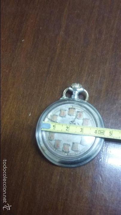 Relojes de bolsillo: RELOJ DE BOLSILLO SISTEMA ROSCOPF. FUNCIONANDO. - Foto 2 - 59812076