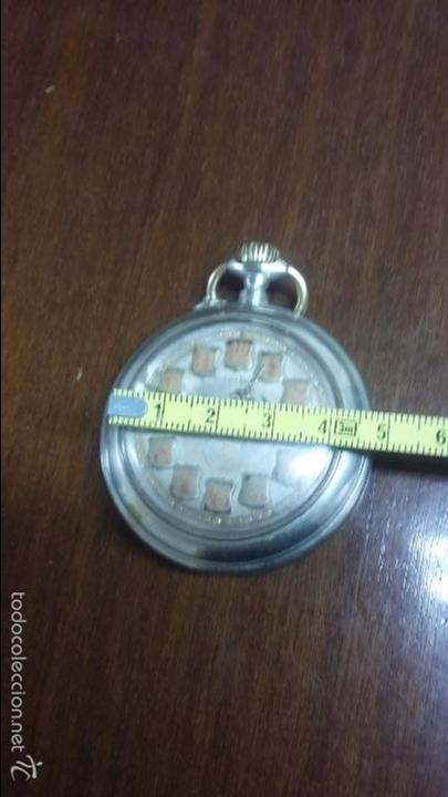 Relojes de bolsillo: RELOJ DE BOLSILLO SISTEMA ROSCOPF. FUNCIONANDO. - Foto 5 - 59812076
