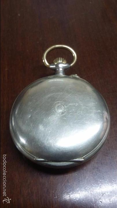 Relojes de bolsillo: RELOJ DE BOLSILLO SISTEMA ROSCOPF. FUNCIONANDO. - Foto 9 - 59812076