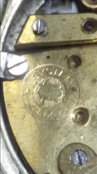 Relojes de bolsillo: RELOJ DE BOLSILLO SISTEMA ROSCOPF. FUNCIONANDO. - Foto 14 - 59812076