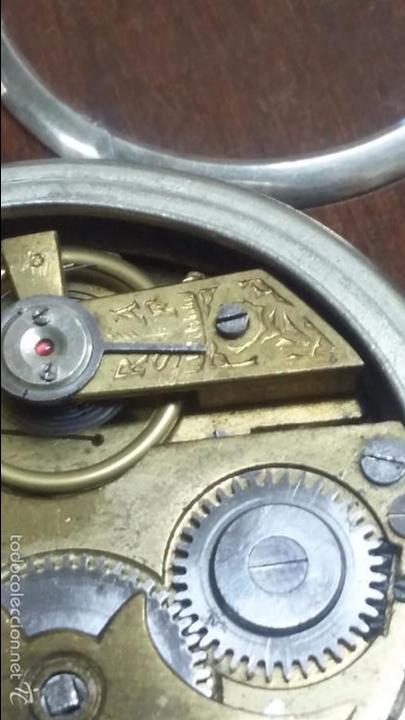 Relojes de bolsillo: RELOJ DE BOLSILLO SISTEMA ROSCOPF. FUNCIONANDO. - Foto 15 - 59812076