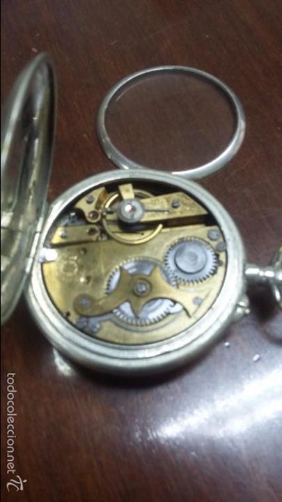 Relojes de bolsillo: RELOJ DE BOLSILLO SISTEMA ROSCOPF. FUNCIONANDO. - Foto 16 - 59812076