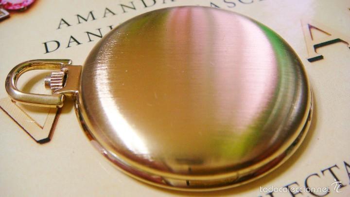 Relojes de bolsillo: REGENT HABMANN EXTRA-PLANO SWISS MADE CHAPADO 18K - CALENDARIO - Foto 14 - 59942115