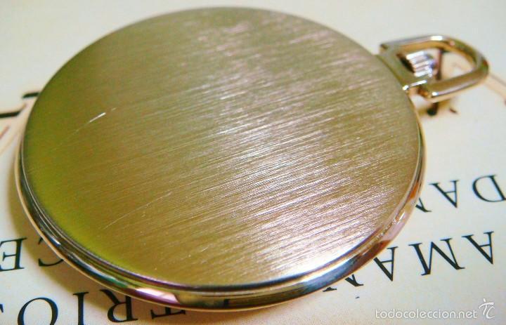 Relojes de bolsillo: REGENT HABMANN EXTRA-PLANO SWISS MADE CHAPADO 18K - CALENDARIO - Foto 15 - 59942115
