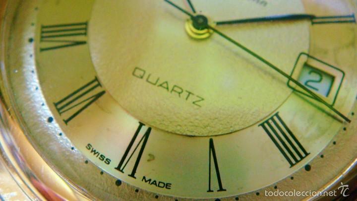 Relojes de bolsillo: REGENT HABMANN EXTRA-PLANO SWISS MADE CHAPADO 18K - CALENDARIO - Foto 23 - 59942115