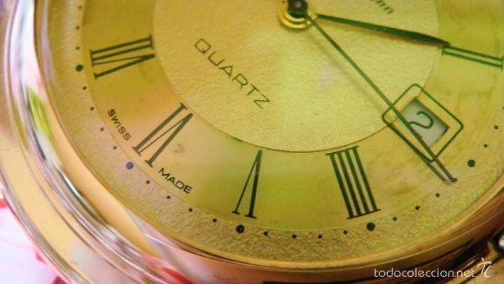 Relojes de bolsillo: REGENT HABMANN EXTRA-PLANO SWISS MADE CHAPADO 18K - CALENDARIO - Foto 24 - 59942115