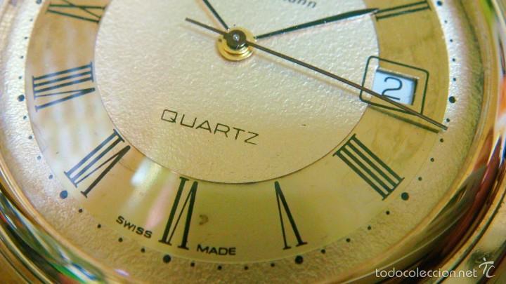 Relojes de bolsillo: REGENT HABMANN EXTRA-PLANO SWISS MADE CHAPADO 18K - CALENDARIO - Foto 25 - 59942115